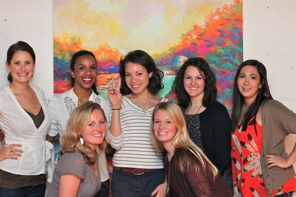 photo recap: wine event with the blog girls