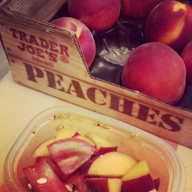 Peach & Tomato Summer Salad
